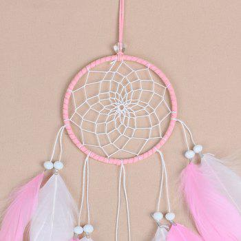 New Style Feather Dreamcatcher Handmade Home Decoration - BLOSSOM PINK