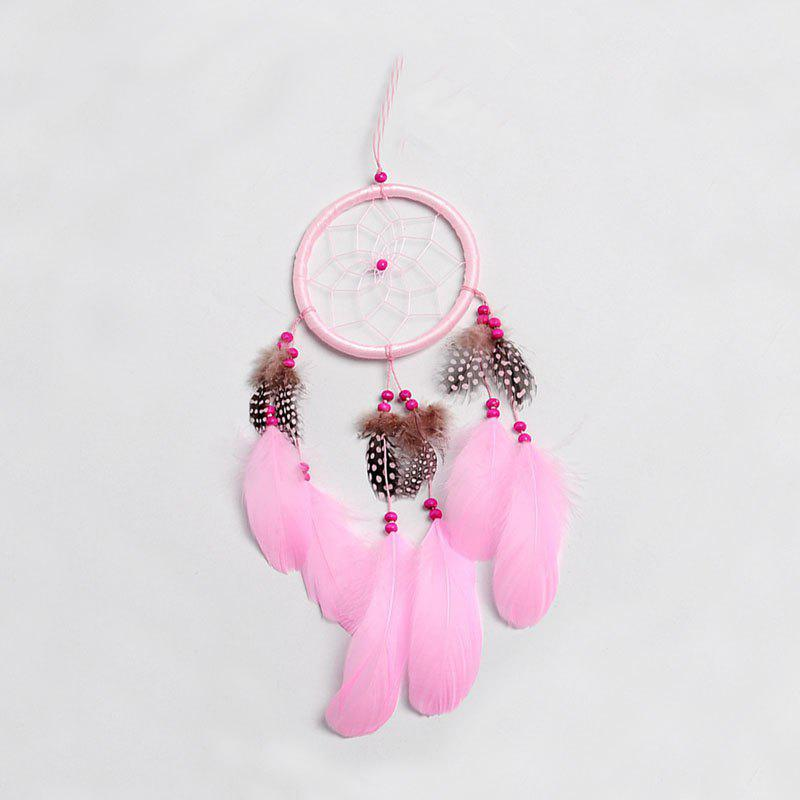 Creative Feather Dreamcatcher Fashion Furniture Decoration Gift - BLOSSOM PINK