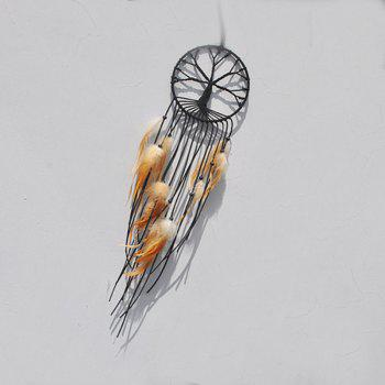 New Style Tassel Ribbon Dreamcatcher Fashion and Simple Decoration - LIGHT BROWN