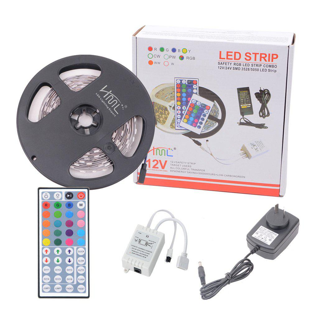 HML 5050 x300 RGB LED Lights Kit with 44key IR Remote Controller and AU-plug