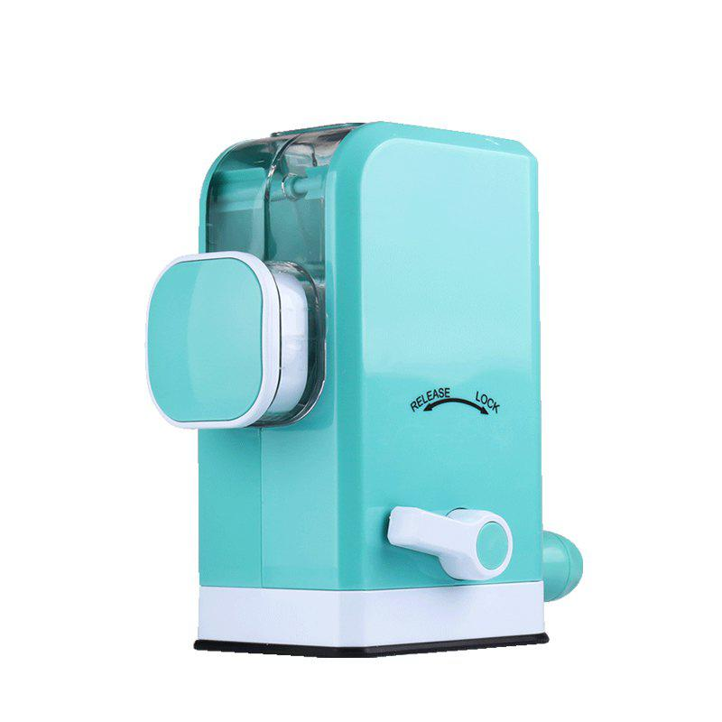 Home Manual Meat Grinder With Creative 6 Stainless Steel Blades stainless steel manual cut meat machine