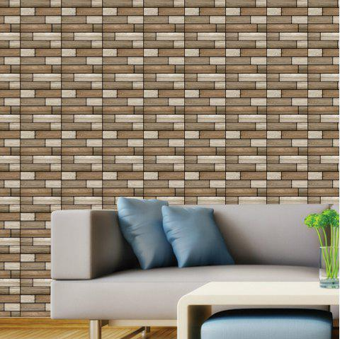 Living Room Home Decor PVC Wall Wallpaper Background - LIGHT KHAKI