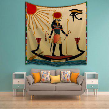 Egyptian Sun God 3D Printing Home Wall Hanging Tapestry for Decoration - multicolor A W230CMXL180CM