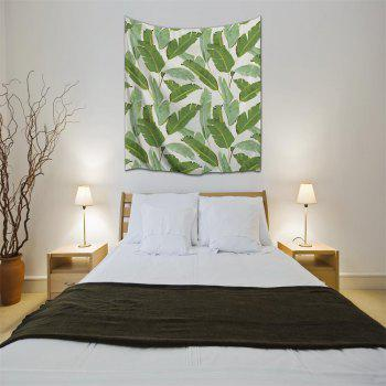 Banana Leaf 3D Printing Home Wall Hanging Tapestry for Decoration - multicolor A W153CMXL130CM