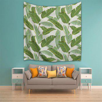 Banana Leaf 3D Printing Home Wall Hanging Tapestry for Decoration - multicolor A W203CMXL153CM