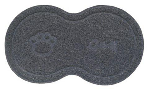 PVC Anti-slip Cat Litter Pet Pad - GRAY