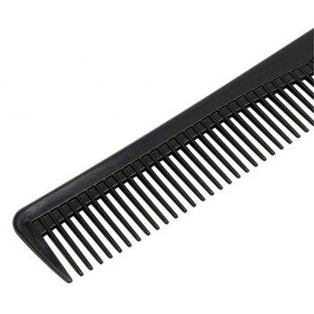 New Two-Head Straight Hair Anti-Static Comb - BLACK