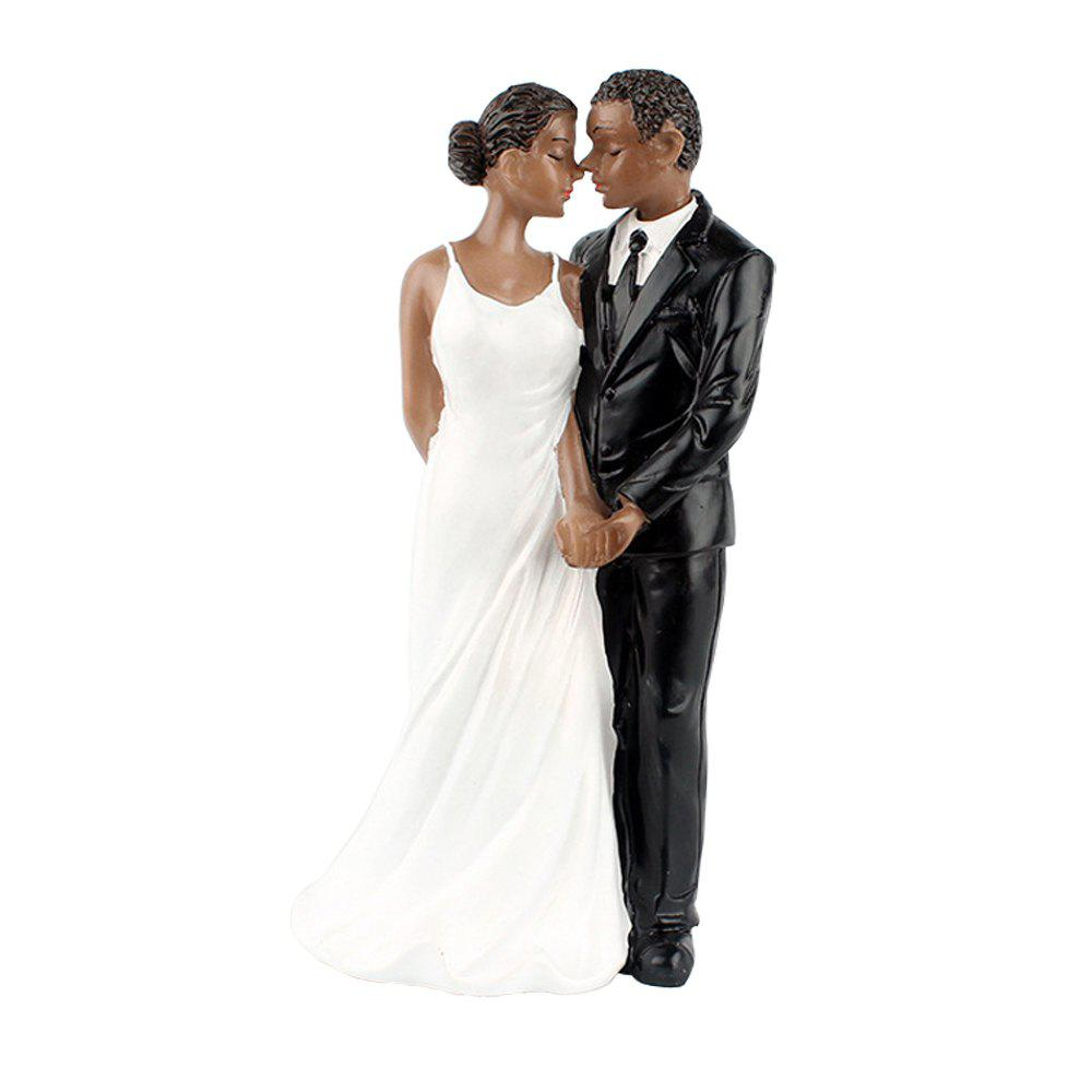 New Style Life Long Black Couple Decoration - NATURAL BLACK