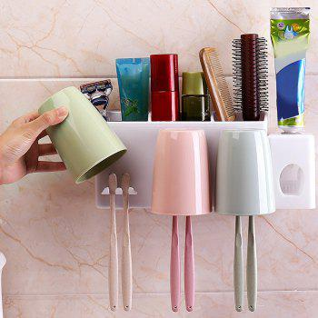 6-HOLE Toothbrush Holder in Bathroom - multicolor A