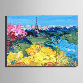 Special Design Frameless Paintings City Print - multicolor 16 X 11 INCH (40CM X 28CM)