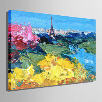 Special Design Frameless Paintings City Print - multicolor 24 X 16 INCH (60CM X 40CM)