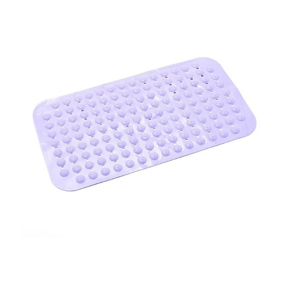 Quality Fashionable Dot Bathroom Mat - MAUVE