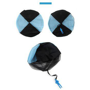 Kids Hand Throwing Parachute Toy Outdoor Fun and Sports Play Game - BLUE