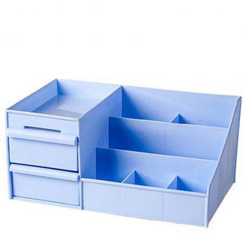 Drawer Type Multi Format Storage Box - BUTTERFLY BLUE