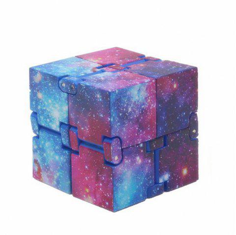 Creative  Starry Sky Infinity Cube Adults Stress Relief Kids Toys Gift - multicolor