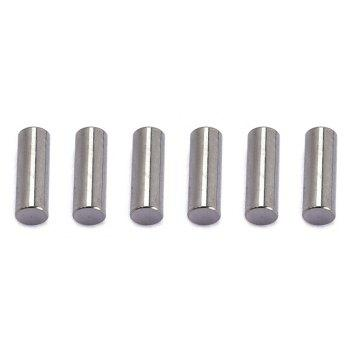 Humbucker Pickup Polepiece Slug for Electric Guitar Replacement Parts 16PCS - SILVER