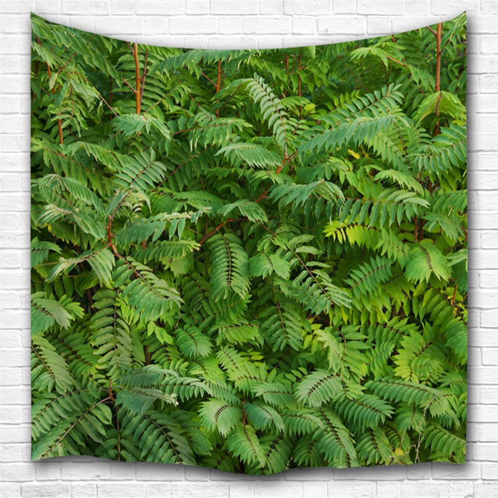 Green Leaf 3D Printing Home Wall Hanging Tapestry for Decoration green lake 3d printing home wall hanging tapestry for decoration