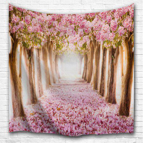 Fallen Flowers 3D Printing Home Wall Hanging Tapestry for Decoration - multicolor A W229CMXL153CM