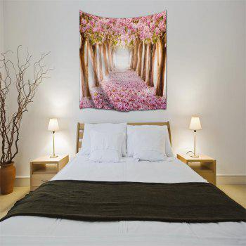Fallen Flowers 3D Printing Home Wall Hanging Tapestry for Decoration - multicolor A W153CMXL130CM