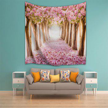 Fallen Flowers 3D Printing Home Wall Hanging Tapestry for Decoration - multicolor A W203CMXL153CM