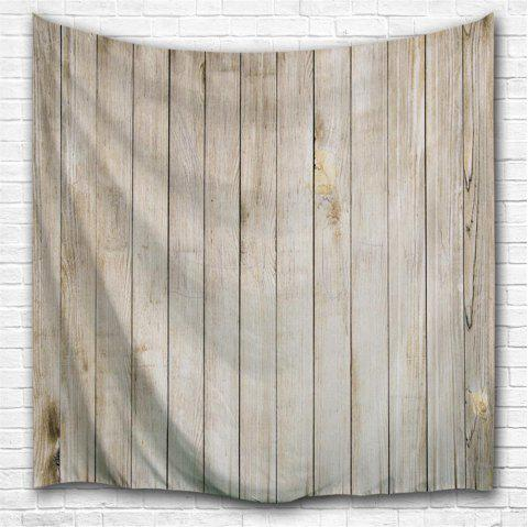 Wood Door 3D Printing Home Wall Hanging Tapestry for Decoration - multicolor A W229CMXL153CM