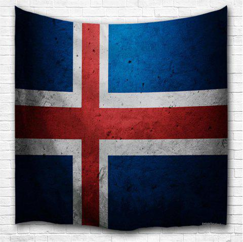 Cross Flag 3D Printing Home Wall Hanging Tapestry for Decoration - multicolor A W229CMXL153CM
