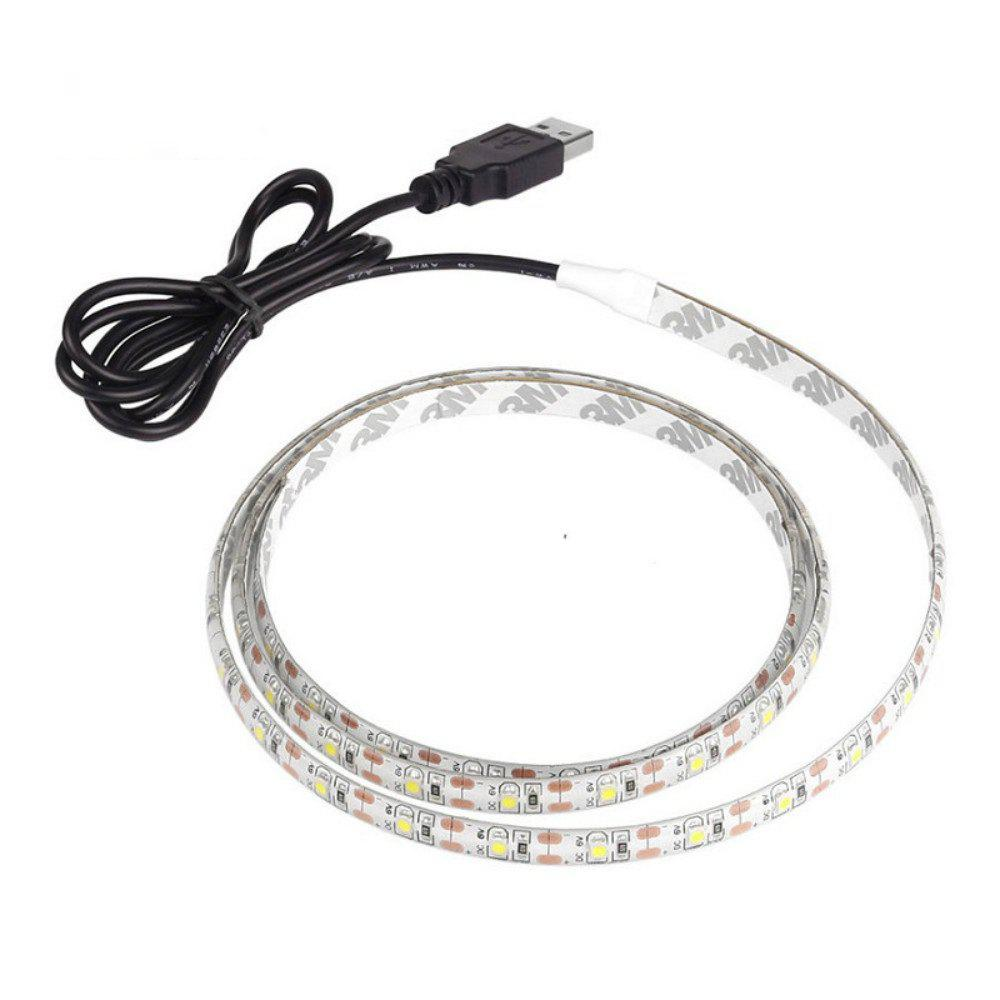 USB 60 LED 5V Waterproof Light Strips - multicolor
