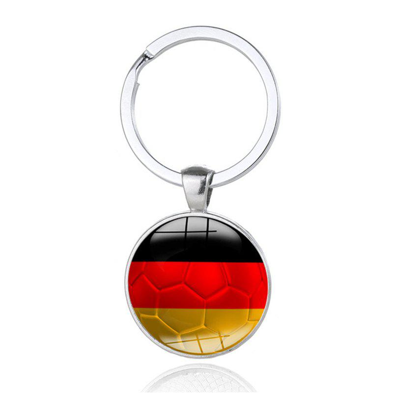 National Flag Football Keychain - multicolor G