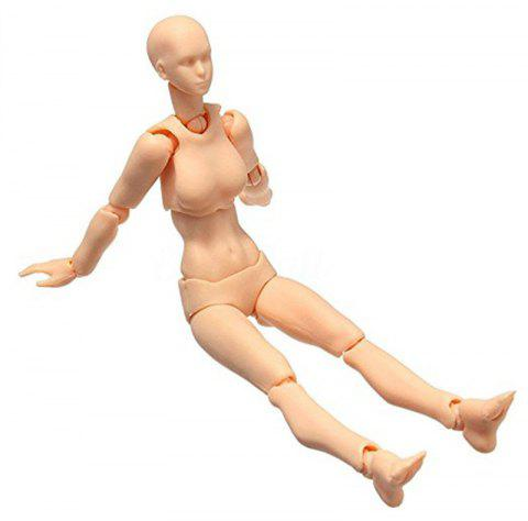 13cm Toy Action Figure Doll - YELLOW