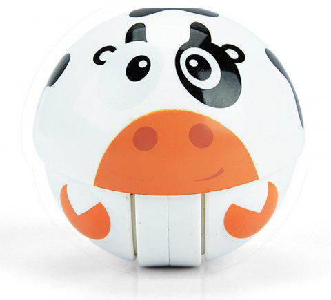 Climbing Toy Ring Bell Crawling Novelty Early Educational Baby Roly-poly - WHITE