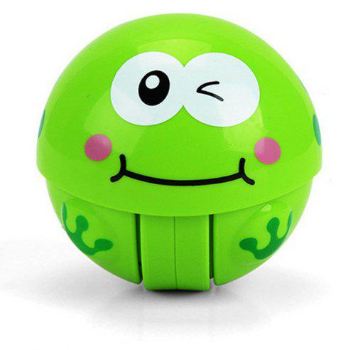 Climbing Toy Ring Bell Crawling Novelty Early Educational Baby Roly-poly - GREEN