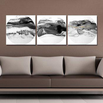 41XDZS - 167-168-171 3PCS Chinese Abstract Scenery Print Art - multicolor 30 X 30CM X 3