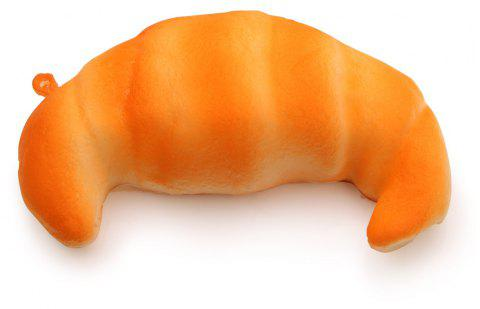 Jumbo Squishy Croissants Squeeze Super Slow Rising Funny Toy - multicolor