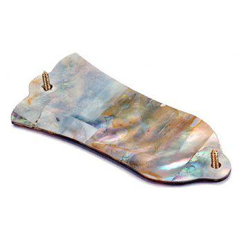 Natural Abalone Shell Guitar Truss Rod Cover with 2 Holes for LP - multicolor A