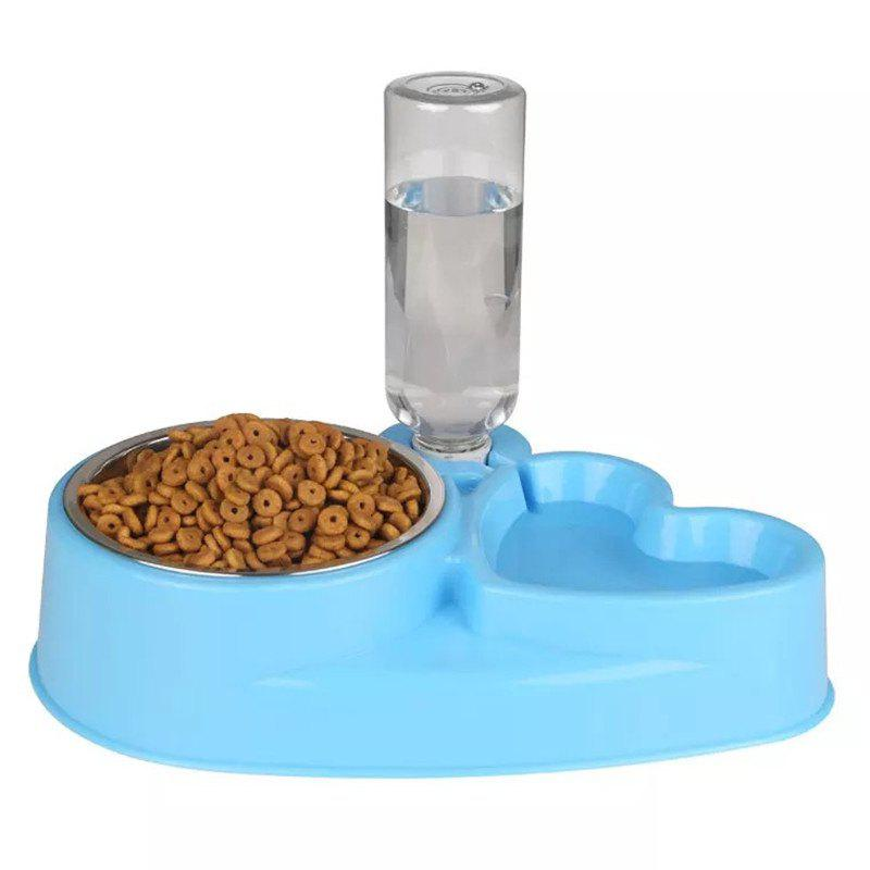 Pet Supplies Cat and Dog Bowl Stainless Steel Non-Slip Automatic Drinker new york jets stainless dog bowl