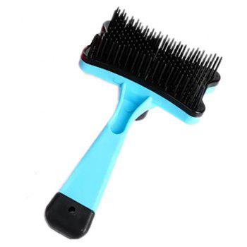 Pet Cleaning Products Dog Cat Grooming and Beauty Massage Tun Hair Comb - LIGHT AQUAMARINE