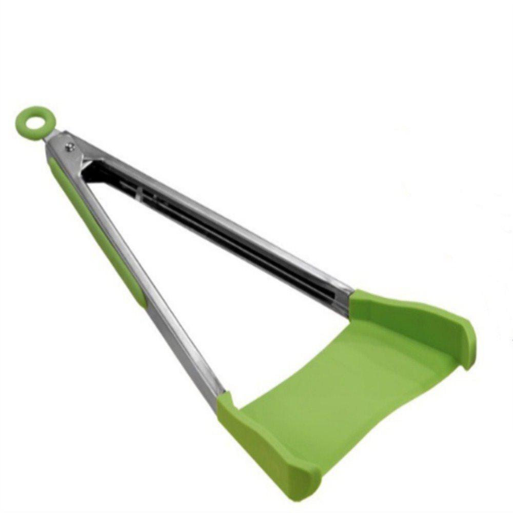 Smart Integrated Function Pan Special Clip Shovel - GREEN APPLE