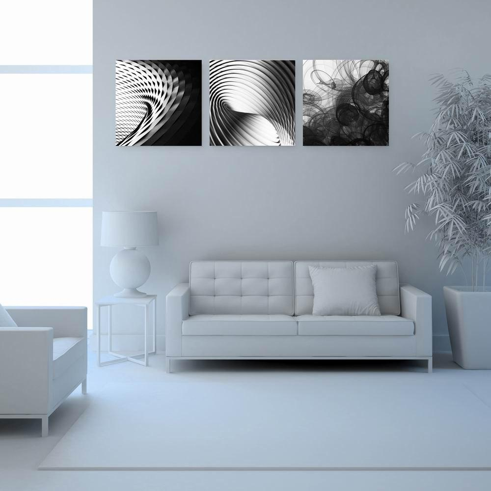 W194 Geometry Unframed Art Wall Canvas Prints for Home Decorations 3 PCS family wall quote removable wall stickers home decal art mural