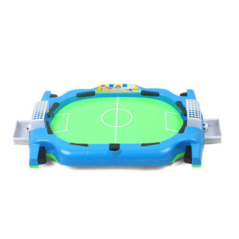 Double Table Football Game Compact Educational Toy big metal box domino 91 pcs pai gow toy game double 12 domino table game toys for children and adults board game