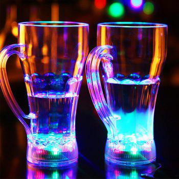 Water-induced Luminous Glass Cup - WHITE