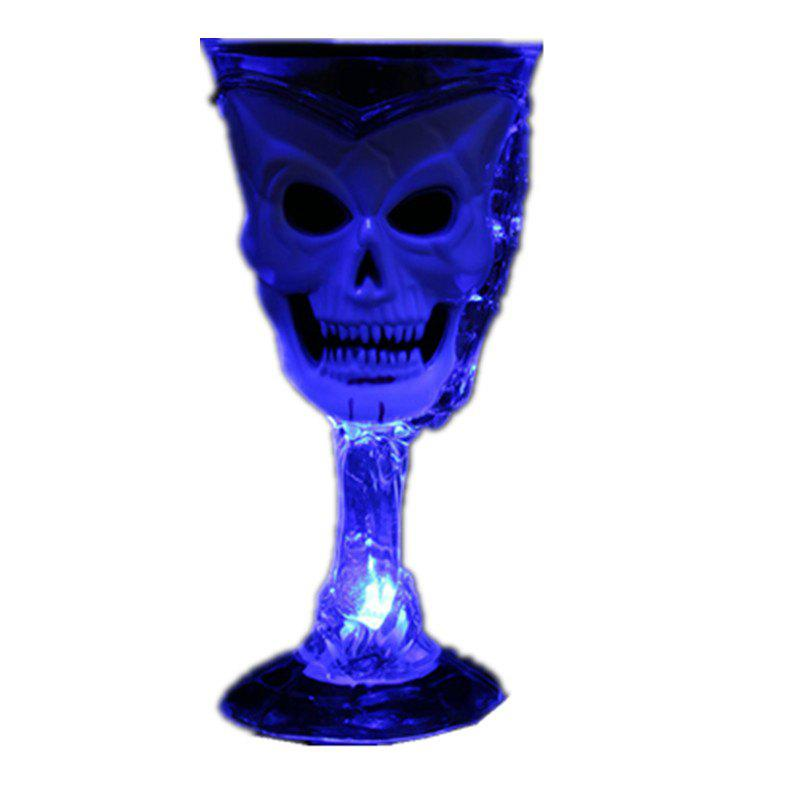 Halloween Props Luminous Cup Bar KTV - COBALT BLUE