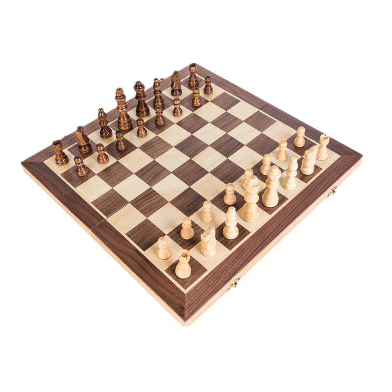 High Grade Wooden Puzzle Chess with Magnetic Recreation Board Game Toys toy fishing rods fish magnetic game board wooden puzzle