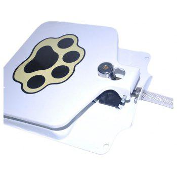 Pet Dogs and Cats Trample Automatic Water Feeder - WHITE
