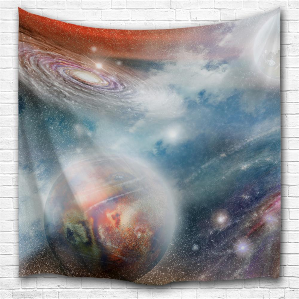 Fantasy Galaxy 3D Printing Home Wall Hanging Tapestry for Decoration space shark 3d printing home wall hanging tapestry for decoration