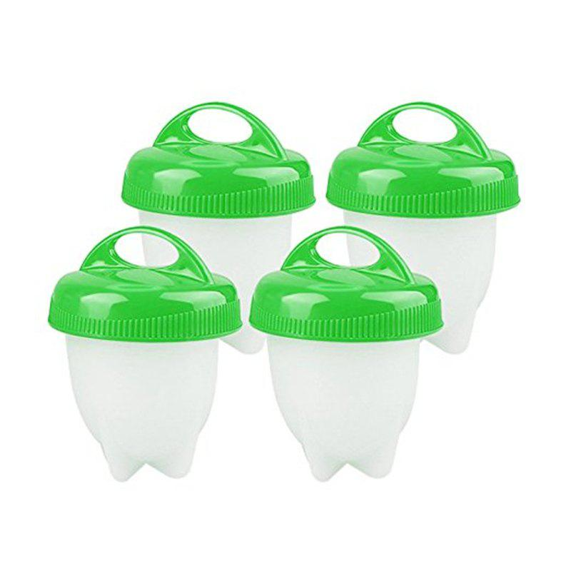 Egglettes Egg Cooker Silicone Poachers for Hard Boiled Eggs 4PCS