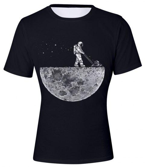 2018 New Moonwalk 3D T-Shirt - multicolor A 4XL