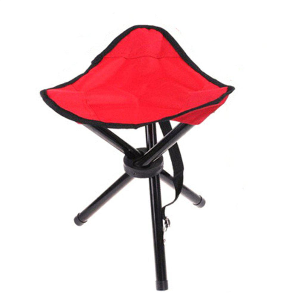 Outdoor Portable Folding Stool Fishing Small Stool portable outdoor aluminium alloy fishing chair seat folding stool camping hiking picnic chairs barbecue h199