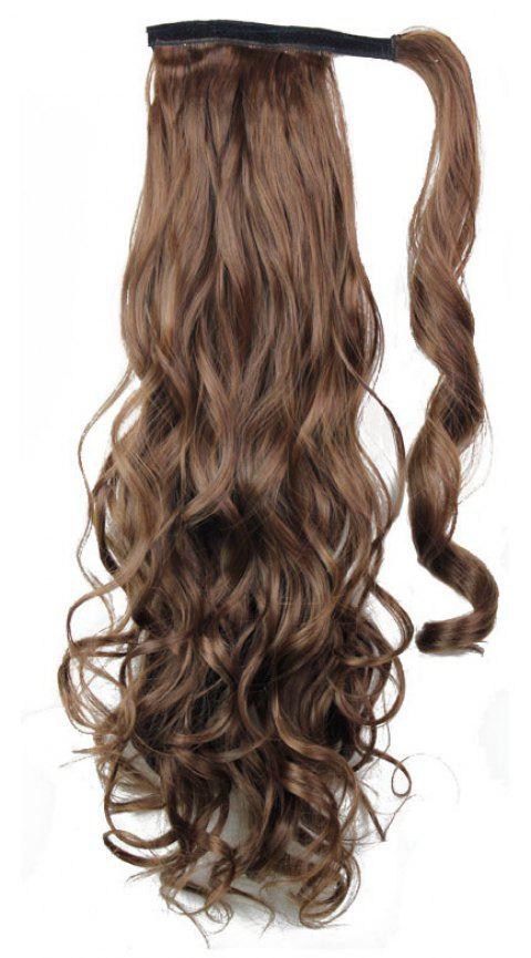 Long Wavy Synthetic Wrap Around Ponytail Hairpieces Hair Extension for Women - 030 24INCH