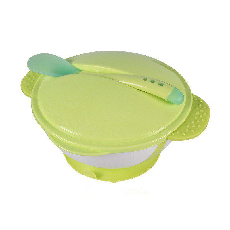 Baby Children Training Supplementary Food To Prevent Fall of The Spoon Bowl 2pcs baby pacifier feeding spoon solid supplies curved spoon children tableware