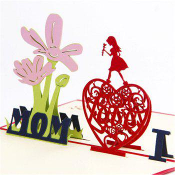 Handmade Mother's Day Card - multicolor